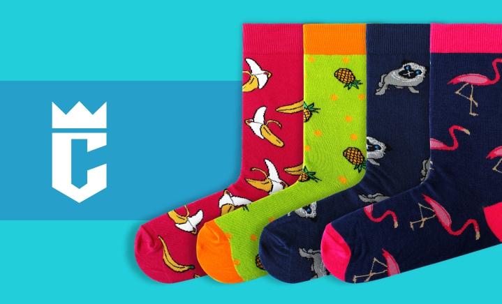 meias personalizadas e estampadas